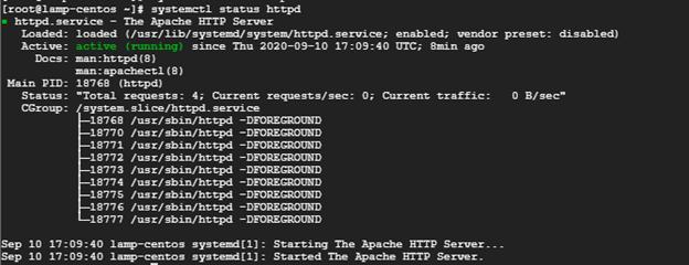 httpd-service-status-centos