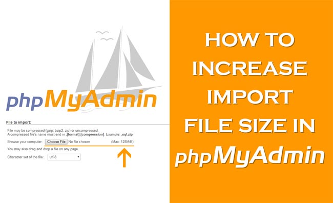 How to Increase Import File Size in phpMyAdmin [WordPress]