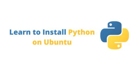 Learn to Install Python on Ubuntu